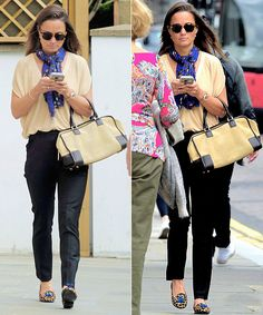 Pippa out in London (25/09/2015)
