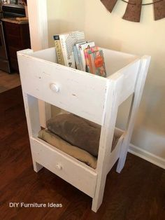 diy furniture DIY Repurposed Drawer Shelf - The Little Frugal House Diy Furniture Hacks, Refurbished Furniture, Repurposed Furniture, Furniture Makeover, Home Furniture, Antique Furniture, Rustic Furniture, Modern Furniture, Furniture Websites