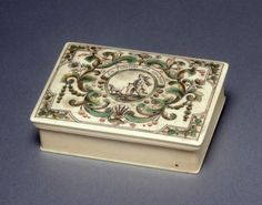 "1720-1730 French Counter box at the Fitzwilliam Museum, Cambridge - From the curators' comments: ""Mariaval le Jeune was an engraver on ivory active in Rouen and Paris in the early to mid 18th century. He designed the card game Reversino (Reversis) in which the object is to avoid winning tricks. This is one of a set of four boxes probably intended for this game."""