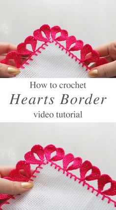 Crochet Boarders, Crochet Blanket Edging, Crochet Edging Patterns, Crochet Quilt, Crochet Patterns Amigurumi, Crochet Motif, Crochet Yarn, Crochet Flowers, Crochet Stitches