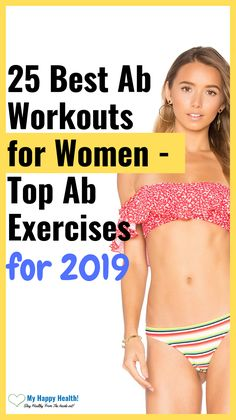25 Best Abs Exercises & Workout for Women to Lose Belly Fat Fast. In this post, you will learn about the few effective ab workouts that a lot of women are doing in secret. If you're active, then you can get abs in a week. Best Ab Workout, Abs Workout For Women, Fat Workout, Toning Workouts, Weight Loss Blogs, Best Weight Loss, Lose Fat, Lose Weight, Weight Loss Protein Shakes