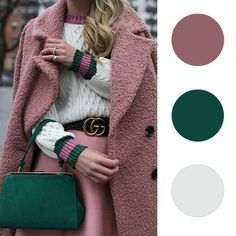 Colour Combinations Fashion, Color Combinations For Clothes, Color Blocking Outfits, Fashion Colours, Colorful Fashion, Color Schemes Colour Palettes, Fall Color Palette, Color Trends, Color Combos