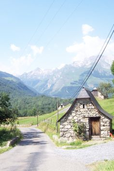 Pyrenees, South France- had the chance to drive thru this part of the world and stay over several nights. Picturesque as if it was an oil painting. Well worth the trip...