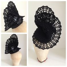 Black lace and orchid headpiece by Murley & Co Millinery.  www.facebook.com/murleyandcomillinery  www.murleyandco.com 0422 029 149