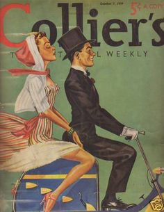 Colliers October 7 1939 cover by James Wittlig