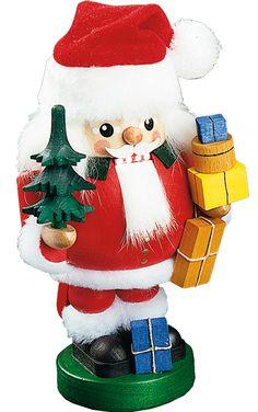 Richard Glaesser Santa with Tree Nutcracker