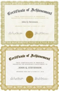 free vector misc beautiful certificate template