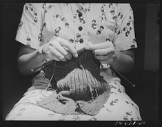 """The Wartime Spies Who Used Knitting as an Espionage Tool - """"Grandma was just making a sweater."""" - A woman knitting, Washington DC, Save The World, Knitting For Charity, Wool Thread, Women Names, Vintage Knitting, Knitted Bags, Knitting Socks, Hand Knitting, Spy"""