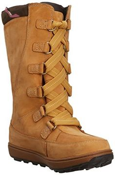 Timberland MKLK 8IN WPLACEUP 39979, Bottes fille - Marron-TR-F5-719, 40 EU - Chaussures timberland (*Partner-Link)