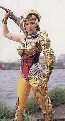 Mighty Morphin Power Rangers villains: Scorpina (Ami Kawai, voiced by Wendee Lee)