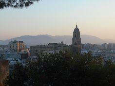 Vista al atardecer desde Gibralfaro. 8/2015