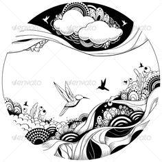 Abstract Line Drawings | ... art graphic painting doodle abstract drawing bizarre contemporary