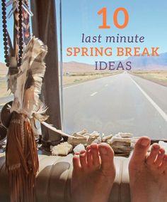 Spring break is rapi