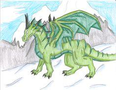 mountain dragon by serpentscorch3422.deviantart.com on @DeviantArt