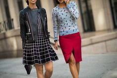 New York Fashion Week Spring 2014 Street Style, Day 5