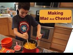 Making Mac And Cheese | Horizon Organic | MamaKatTV - YouTube