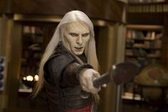 Prince Nuada Silverlance....I just love when he points his thing like that. ROFLMAO!!!! If you got that now you know my jokes are raunchy too. *blushes*