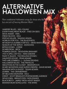 A Halloween playlist for everyone! 80 songs to usher in this creepiest of seasons. From dance numbers to Day-O, there's a playlist sure to spooky you. Halloween Songs, Halloween 2019, Holidays Halloween, Spooky Halloween, Halloween Treats, Happy Halloween, Halloween Decorations, Halloween Costumes, Halloween Playlist Music
