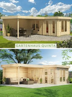 10 Best Flachdach Gartenhaus Images On Pinterest Saunas Steam