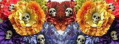 Dia de los muertos ~ facebook cover #Calacas