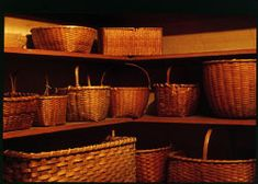 Collection of Shaker baskets  Photograph by Bill Finney