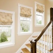 Stairwell Window Treatments
