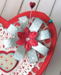 Altered Paper Mache Heart Box