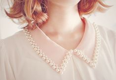 Shop Anne Fontaine's heirloom quality statement collars for women, handcrafted in small Italian and French workshops. These collar necklaces are a perfect addition to impeccable evening attire. Fashion Details, Fashion Design, Collars For Women, Kawaii Fashion, Mode Inspiration, Diy Clothes, Kawaii Clothes, Collar Necklace, Fashion Dresses