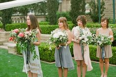 those are some serious bouquets.