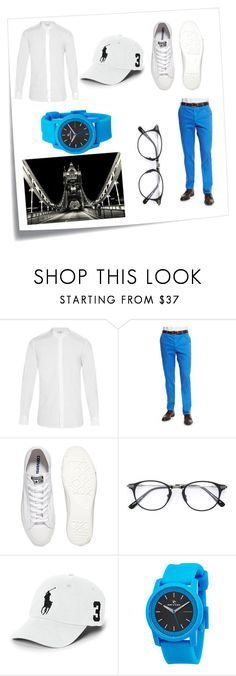 """Preppy"" by jazzy-knows-best ❤ liked on Polyvore featuring Post-It, Yves Saint Laurent, Zanella, Converse, Dita, Polo Ralph Lauren, Rip Curl, men's fashion and menswear"