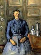 세잔- 여자와 커피 1890년  그림 속의 여자는 주인공이 아니다. 여인이 입고 있는 옷은 차가운 느낌, 솔리드한 느낌을 주며 작품이 나타내고자 하는 바를 더 부각시켜준다. 아내와의 사랑을 그린 그림이 아니라 아내라는 객체를 통해 또다른 사물들을 보고 그렸다는 점에서 파랑이 주는 느낌이 주효했다고 생각한다.
