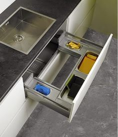 9 Valuable Hacks: Ikea Kitchen Remodel Towel Racks small kitchen remodel no window.Small Kitchen Remodel No Window. Kitchen Sink Storage, Kitchen Organisation, Kitchen Drawers, Organization, Organizing, Under Sink Storage, Cabinet Storage, Small Storage, Extra Storage