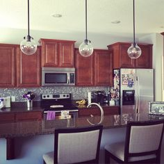 Our Styled Suburban Life: New Kitchen Lighting