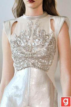 Lovely embellished white dress