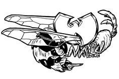 Wu-Tang Killa Bees, for Celtek Libra Tattoo, Bee Tattoo, Wu Tang Clan, Tattoo Design Drawings, Tattoo Designs Men, Money Sign Tattoo, Wu Tang Tattoo, Snowboard Magazine, Wutang
