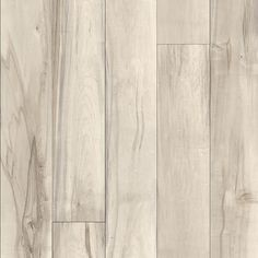 Allen+Roth 8mm water resistant laminate floors offer beauty and performance in a worry-free floor. Baldwin Maple finish and wood grain texture for a contemporary look. Wear layer designed for heavy residential use. AC3 rated wear layer designed for heavy residential use. No attached underlayment. 4-sided beveled edge defines the look of each plank. 7.56-in W x 4.22-ft L x 8mm thick planks cover 23.92-sq ft. Click-lock technology allows for easy installation. 30-year limited residential warranty. White Laminate Flooring, Grey Flooring, Flooring Ideas, Maple Floors, Wood Grain Texture, Allen Roth, Floor Colors, White Texture, Layers Design
