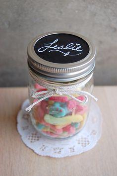 @Andrea Staires 50 Blank Chalkboard Mason Jar Labels, Place Settings, Wedding Chalkboards on Etsy, $12.00