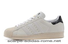 separation shoes 35fe7 43079 Uomo Donna Atmos x Adidas Originals Superstar 80s G-SNK 7 Scarpe off-Bianche  M25977 (Adidas Nuove)