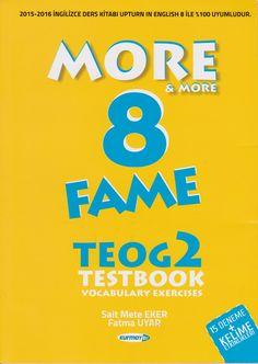 Kurmay Yayınları Ortaokul 8.Sınıf More English Fame Teog 2 Testbook #teog2 #ingilizce #testbook #8sınıfe