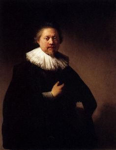 Portrait Of A Man - Rembrandt  - Completion Date: 1632