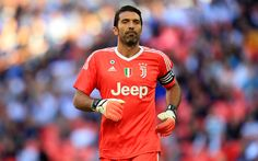 Download wallpapers Juve, 4k, Gianluigi Buffon, footballers, Juventus, football stars, goalkeeper, Italy, Serie A