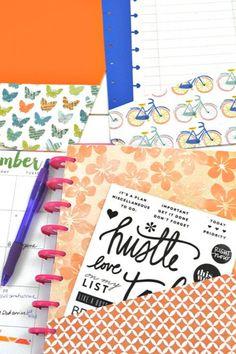 Birthday Celebration Box Item Traveler/'s Notebook Erin Condren Happy Planner Celebrate Sticker Flap Fold over Foldable Sticker Box