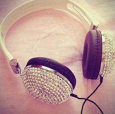 beautiful, cute, earphone, handfree