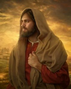 """I Love this painting of the Savior from Howard Lyon called, """"Light of the World""""."""