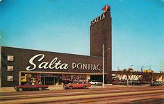 Mike Salta Pontiac, Long Beach CA 1964