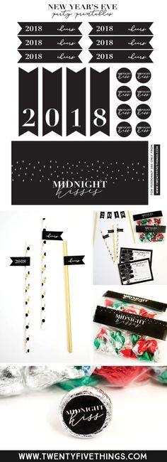 New Year's Eve Printable Set