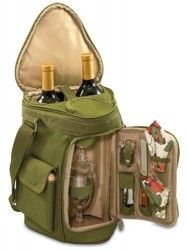 Deluxe Insulated Tote – Wine And Cheese Service For 2