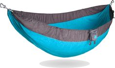 Roo™ The World's Best Camping Hammock The Roo is a camping hammock built for life changing adventure. Inspired by the kangaroo, this camping hammock will get you off the ground in a hurry, give you a Best Camping Hammock, Camping 101, Camping Essentials, Family Camping, Outdoor Camping, Camping Items, Camping Products, Rain Camping, Minivan Camping