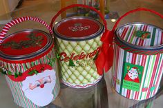 Holiday Craft Project: Paint Can gift