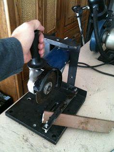 diy stand angle grinder
